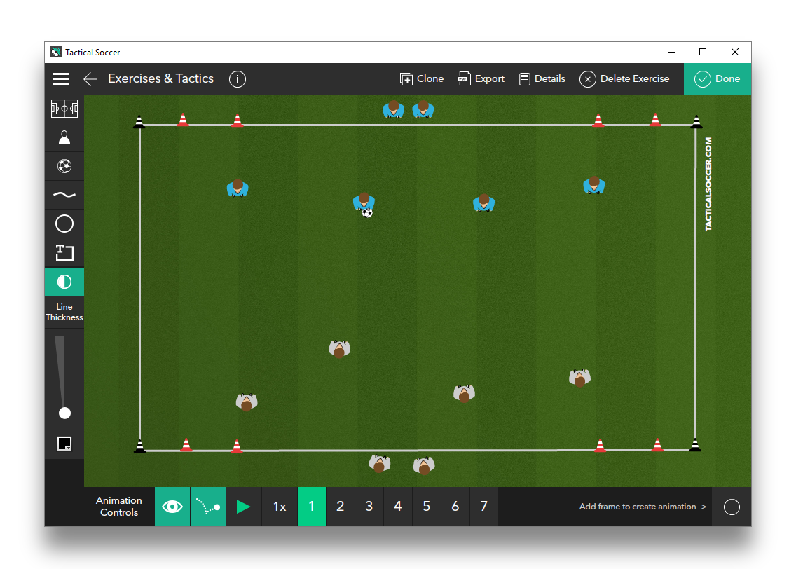 Directional Game (4 Goals)