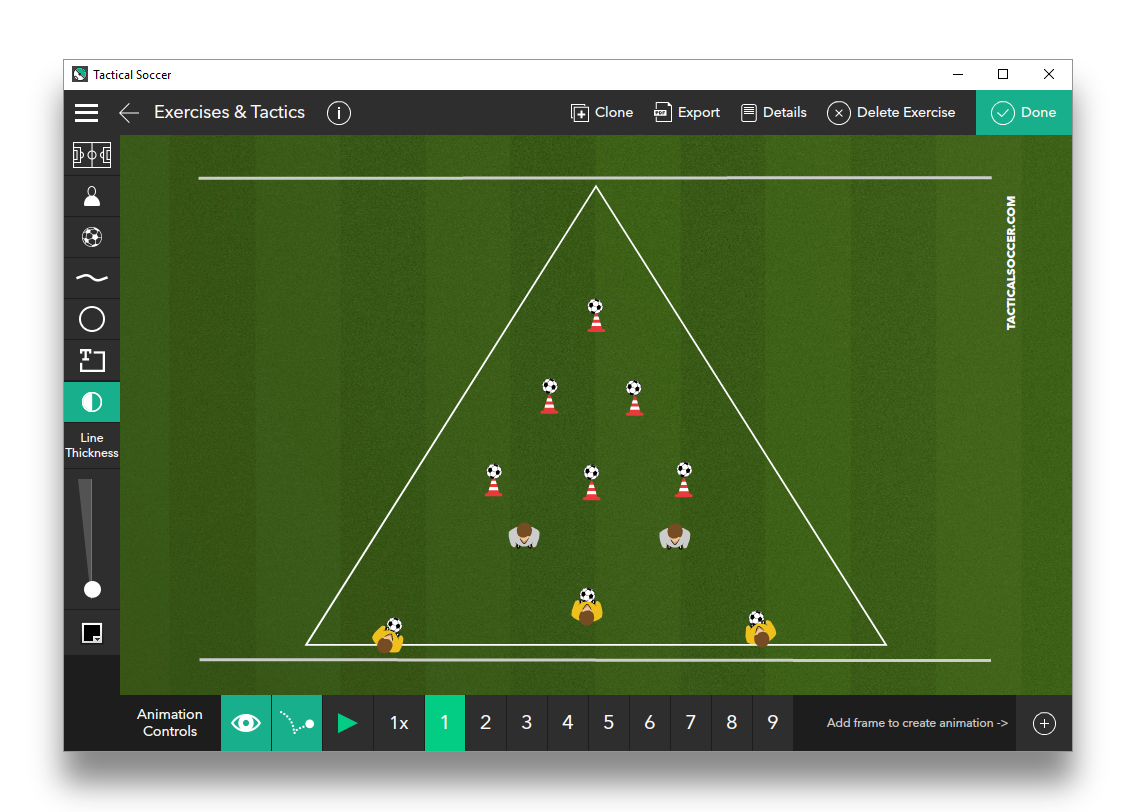 Target Passing with Defenders 2