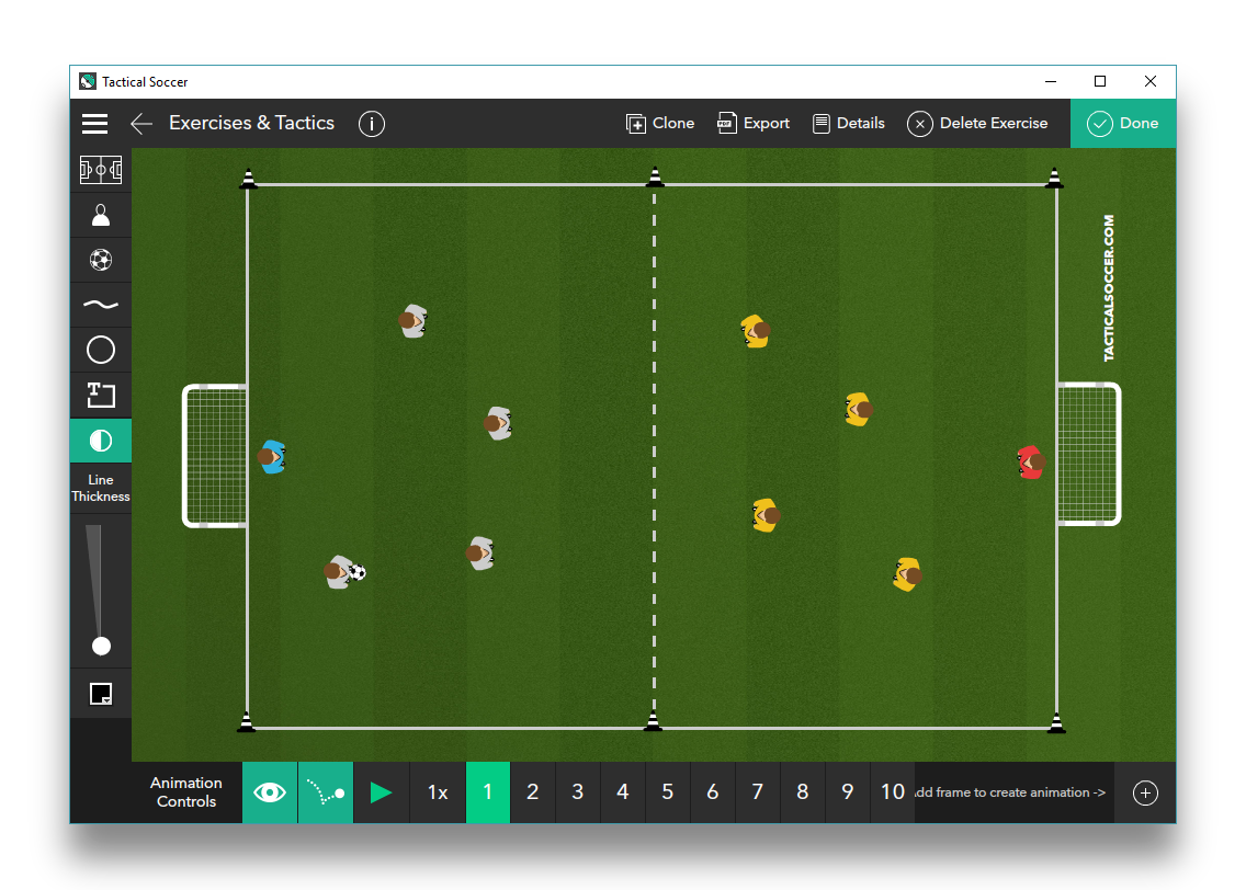 Small Sided Shooting Game 4