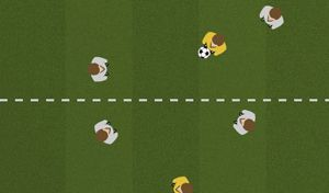 Passing (4 Goal Game) - Tactical Soccer