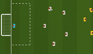 Transitions Game 6 - Tactical Soccer