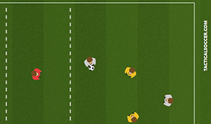 Zone Keep Away 5 - Tactical Soccer